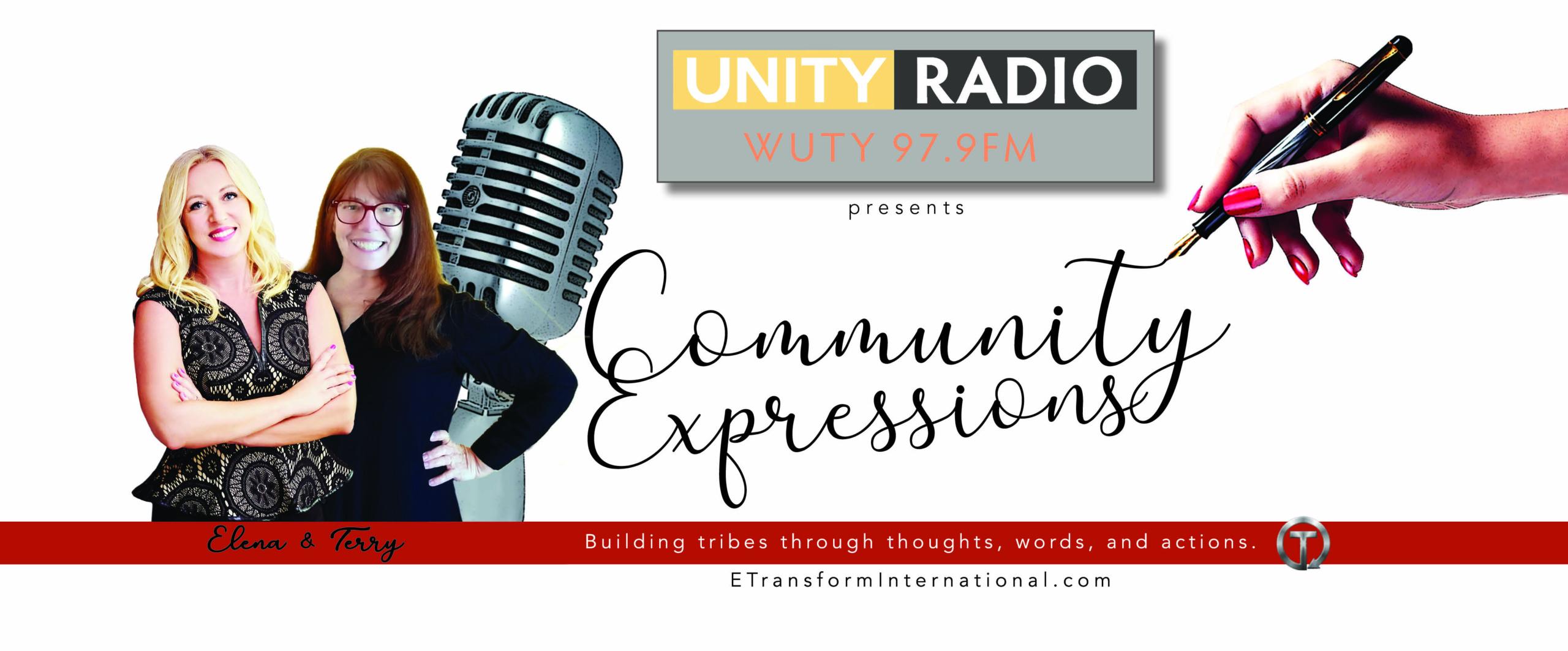 Unity Radio Community Expressions Elena Rahrig Transform